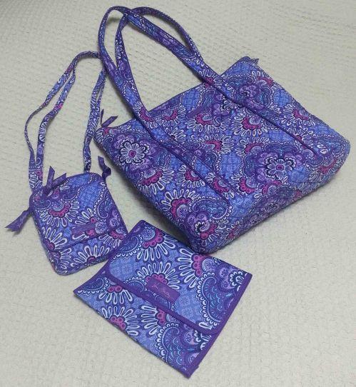 My new Vera Bradley bags