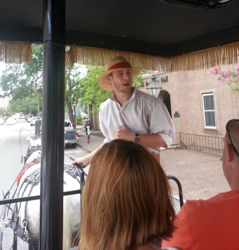 Our Tour Guide - Elliot