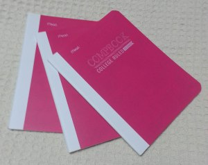 Pink Comp Notebooks