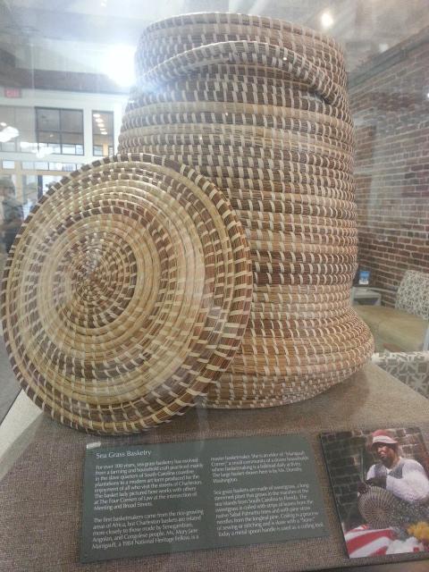 Sea Grass Basket info at VC