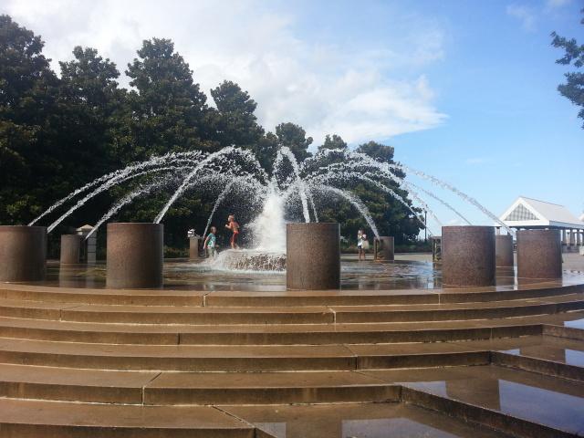 Waterfront Park -Kids Fountain