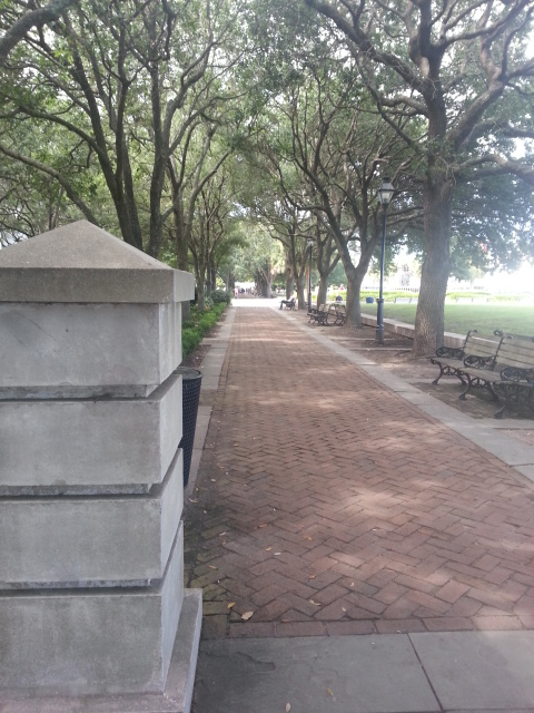Waterfront Park - Pathway