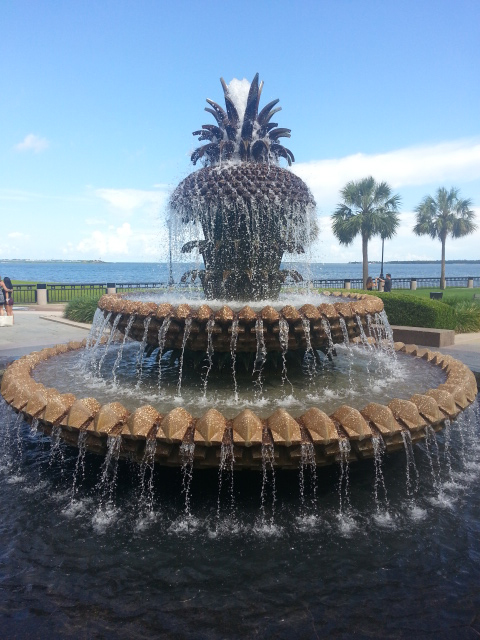 Waterfront Park - Pineapple Fountain