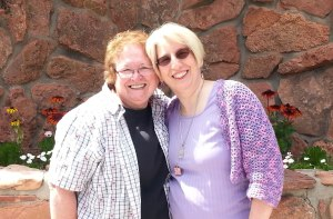 Sharon and me